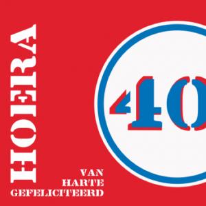 40 jaar kaartje2go
