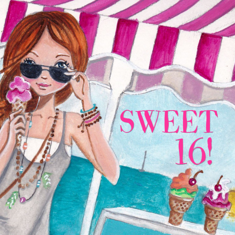 sweet 16 party
